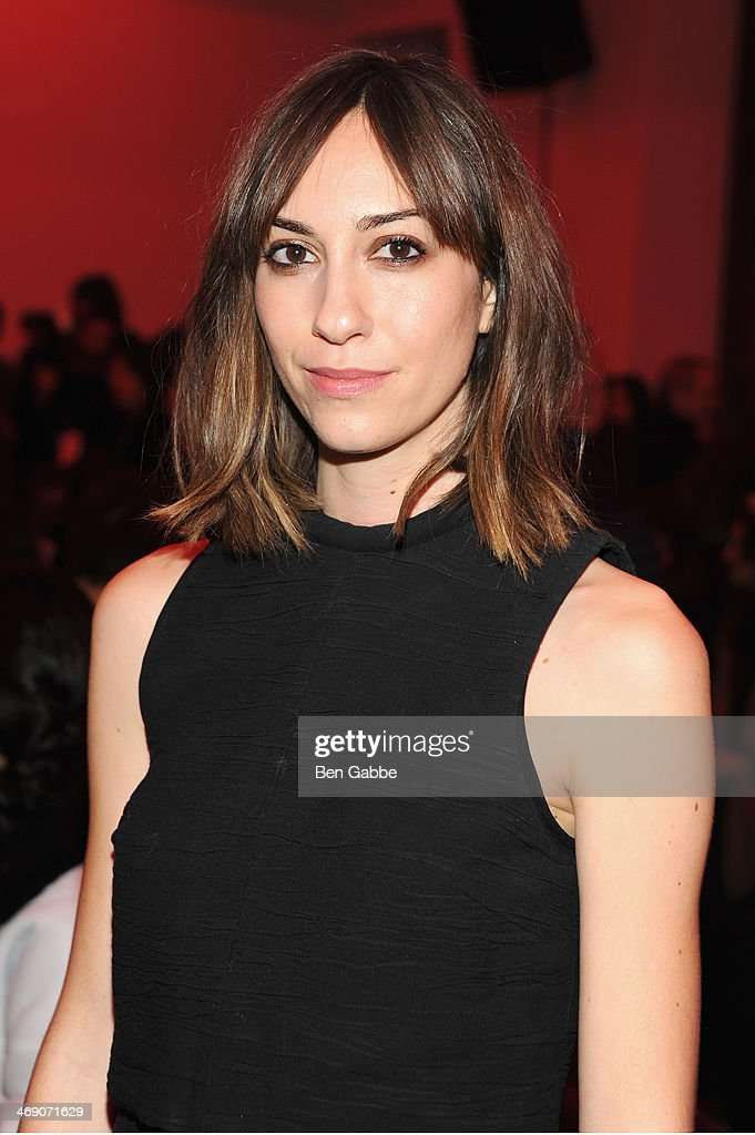 Film Director <a gi-track='captionPersonalityLinkClicked' href=/galleries/search?phrase=Gia+Coppola&family=editorial&specificpeople=3099216 ng-click='$event.stopPropagation()'>Gia Coppola</a> attends the Proenza Schouler fashion show during Mercedes-Benz Fashion Week Fall 2014 on February 12, 2014 in New York City.