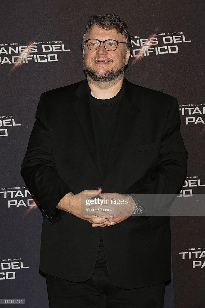 Film director Guillermo Del Toro attends the 'Pacific Rim (Titanes Del Pacifico)' Mexico City premiere at Reforma 222 on July 1, 2013 in Mexico City, Mexico.