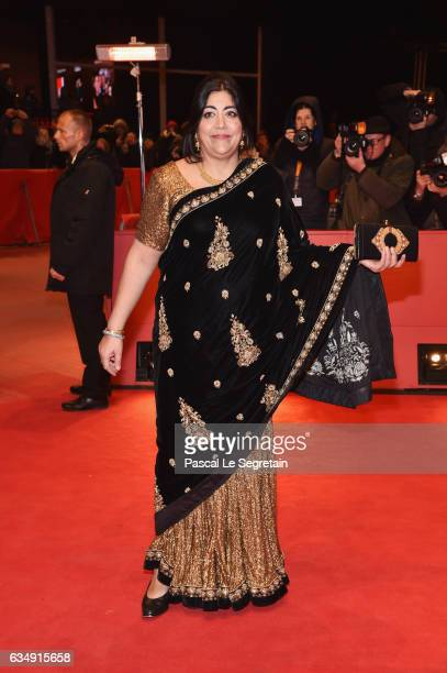 Film director Gurinder Chadha attends the 'Viceroy's House' premiere during the 67th Berlinale International Film Festival Berlin at Berlinale Palace...