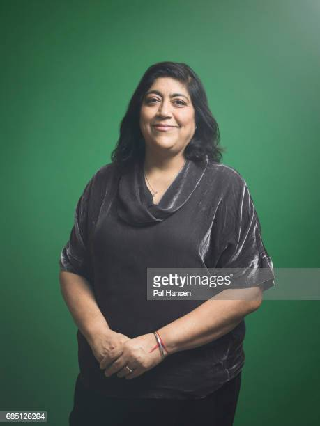 Film director Gurinder Chadha is photographed for Psychologies magazine on January 9 2017 in London England