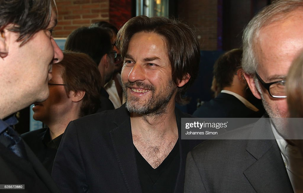 Film director Hans Steinbichler (C) attends the FilmFernsehFonds Bayern celebrations at Gasteig Carl-Orff-Saal on April 28, 2016 in Munich, Germany.