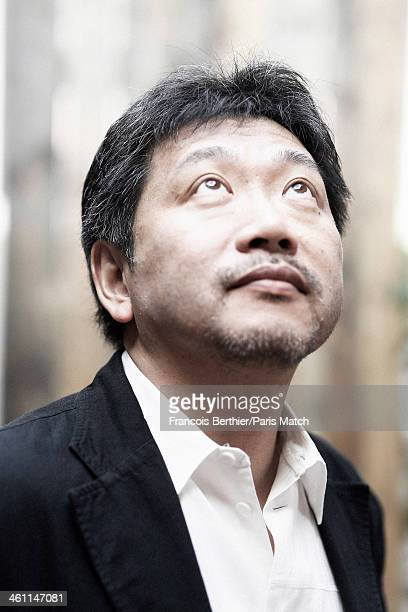 Film director Hirokazu Koreeda is photographed for Paris Match on May 19 2013 in Cannes France