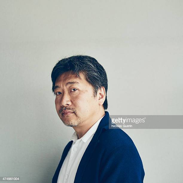 Film director Hirokazu Koreeda is photographed on May 14 2015 in Cannes France