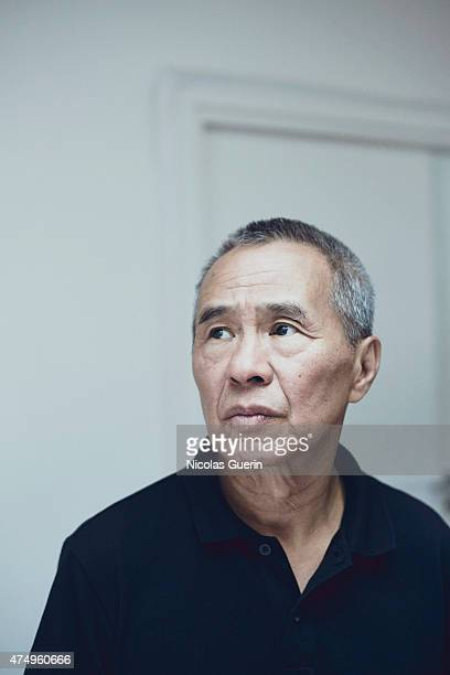 Film director Hou Hsiao Hsien is photographed on May 22 2015 in Cannes France