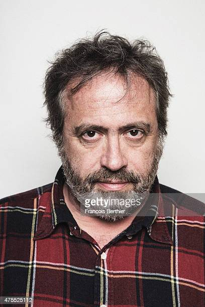 Film director Jaco Van Dormael is photographed on May 18 2015 in Cannes France