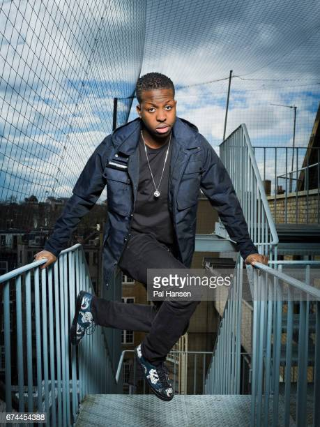 Film director Jamal Edwards is photographed for the Observer on February 23 2016 in London England