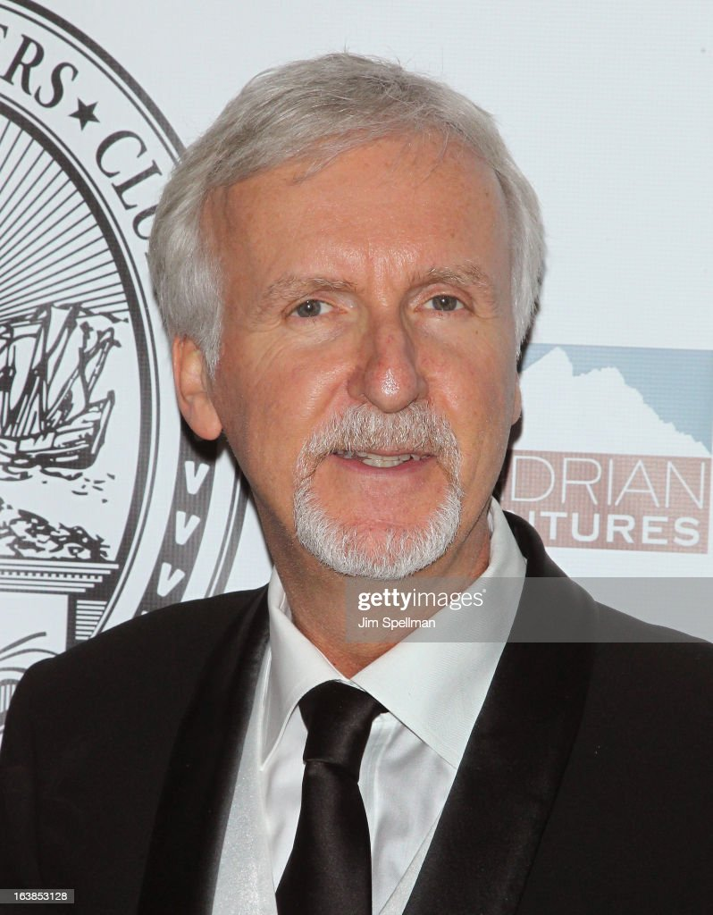 Film Director <a gi-track='captionPersonalityLinkClicked' href=/galleries/search?phrase=James+Cameron&family=editorial&specificpeople=206399 ng-click='$event.stopPropagation()'>James Cameron</a> attends the 109th Explorers Club Annual Dinner at The Waldorf=Astoria on March 16, 2013 in New York City.
