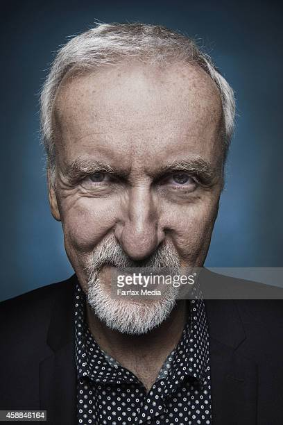 Film director James Cameron is photographed on August 8 2014 in Sydney Australia