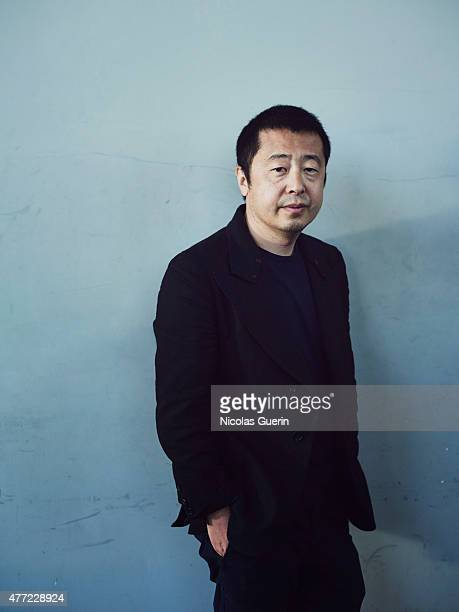 Film director Jia Zhangke is photographed on May 22 2015 in Cannes France