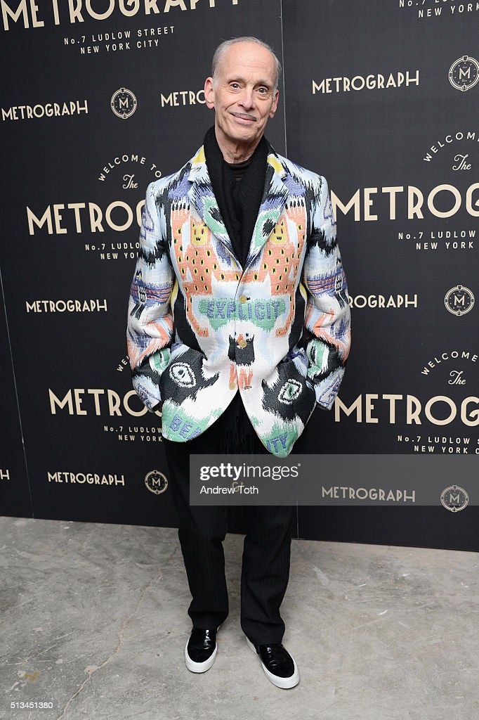 Film director John Waters attends the Metrograph opening night at Metrograph on March 2, 2016 in New York City.