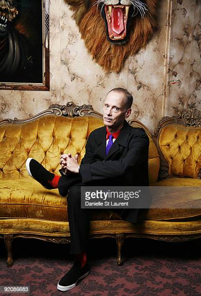 Film director John Waters poses at a portrait session for Out Magazine in 2007