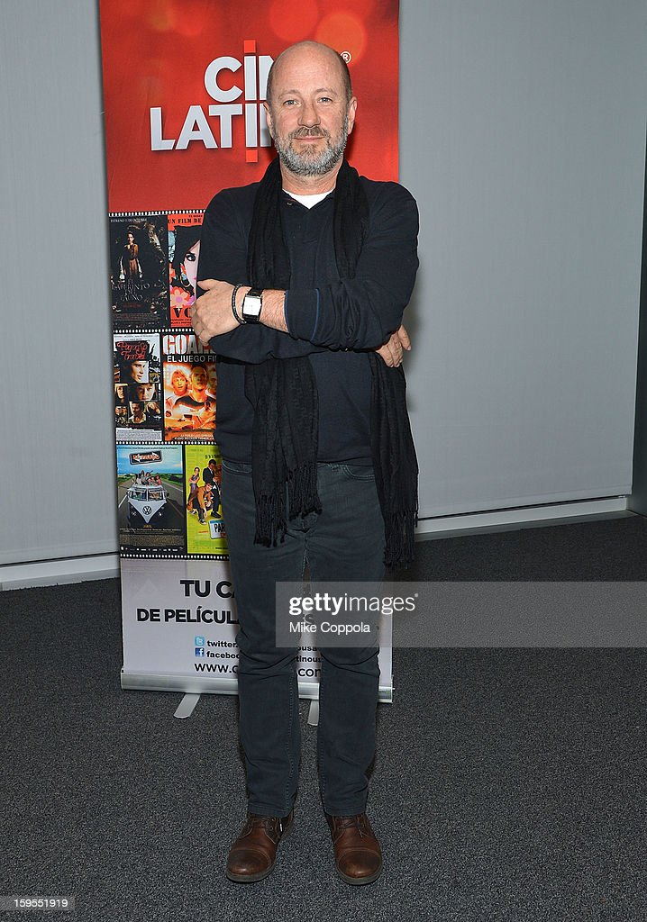 Film director Jose Alvarez attends 3rd Annual Cinema Tropical Awards at The New York Times Headquarters on January 15, 2013 in New York City.