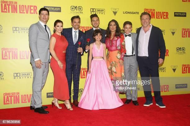 Film director Ken Marino Alessandra Rosaldo Eugenio Derbez Vadhir Derbez Salma Hayek Noel Carabaza producer Ben Odell and Manelly Zepeda attend the...