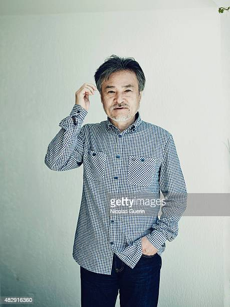 Film director Kiyoshi Kurosawa is photographed on May 18 2015 in Cannes France