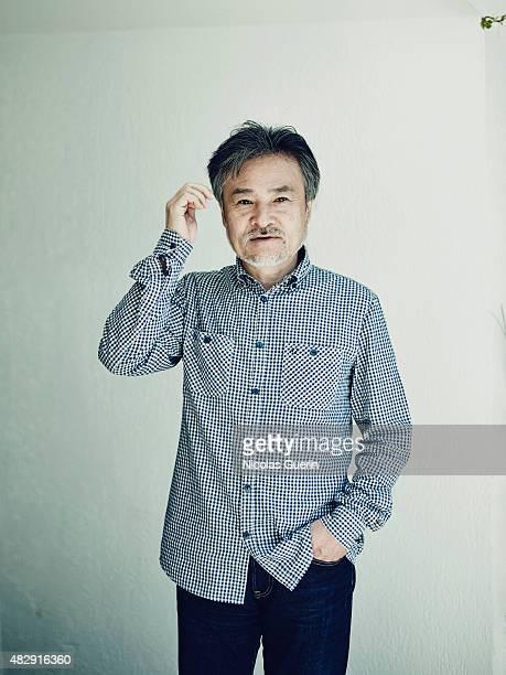 Film director Kiyoshi Kurosawa is photographed on May 18 2015 in Cannes France