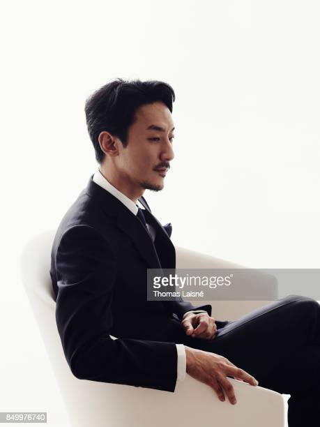 Film director Kohei Igarashi from the film 'The Night I Swam' is photographed for Self Assignment on September 5 2017 in Venice Italy