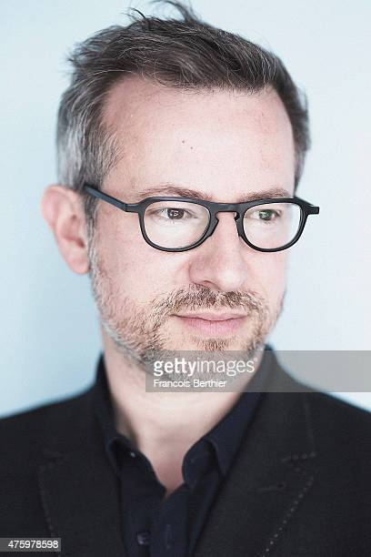 Film director Laurent Lariviere is photographed on May 21 2015 in Cannes France