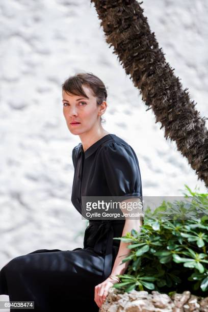Film director Leonor Serraille is photographed for Self Assignment on May 21 2017 in Cannes France
