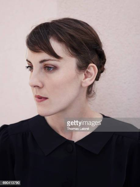Film director Leonor Serraille is photographed on May 25 2017 in Cannes France