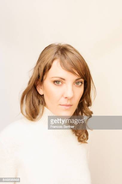 Film director Leonor Serraille is photographed on September 9 2017 in Deauville France