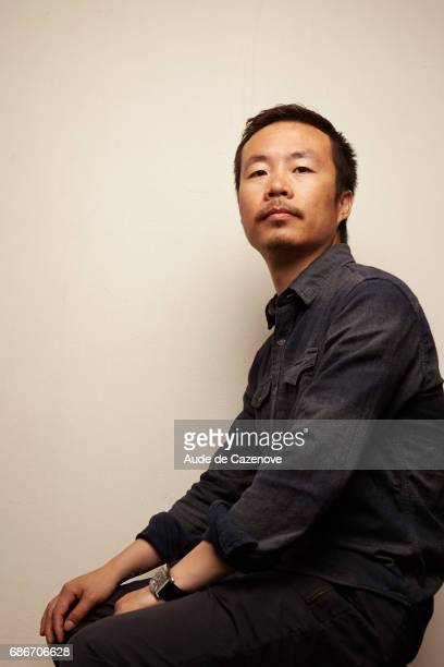 Film director Li Ruijin is photographed on May 21 2017 in Cannes France