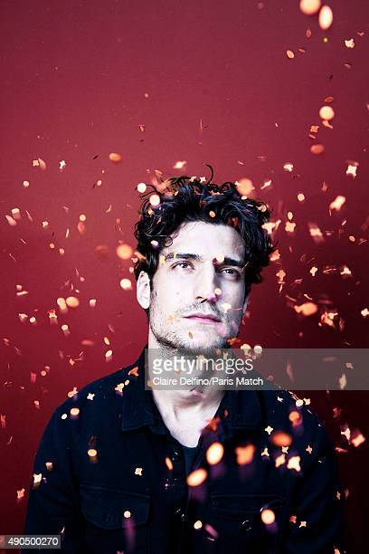 Film director Louis Garrel is photographed for Paris Match on September 9 2015 in Paris France