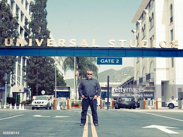 Film director Luc Besson is photographed for Paris Match on July 25 2014 in Santa Monica California