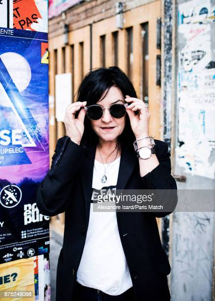 Film director Lynne Ramsay is photographed for Paris Match on October 24 2017 in Paris France
