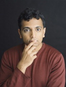 Film director M Night Shyamalan is photographed for Empire magazine on December 2 1999 in London England