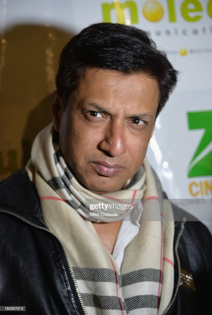 Film director Madhur Bhandarkar attends the 'Ticket 2 Bollywood: Cinema Beyond Boundaries' Opening Night Screening at SVA Theater on September 27, 2013 in New York City.