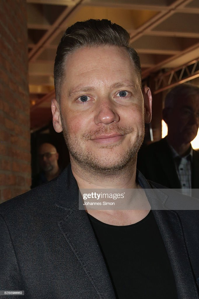Film director <a gi-track='captionPersonalityLinkClicked' href=/galleries/search?phrase=Marco+Kreuzpaintner&family=editorial&specificpeople=636556 ng-click='$event.stopPropagation()'>Marco Kreuzpaintner</a> attend the FilmFernsehFonds Bayern celebrations at Gasteig Carl-Orff-Saal on April 28, 2016 in Munich, Germany.