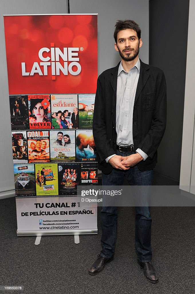Film director Matias Meyer attends the 3rd annual Cinema Tropical awards at The New York Times Headquarters on January 15, 2013 in New York City.