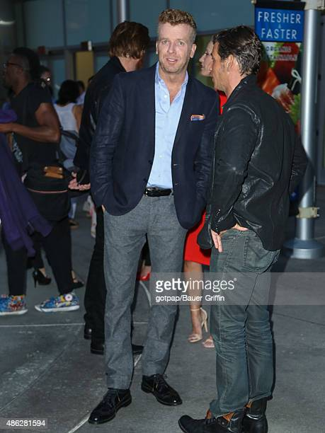 Film director McG and actor Mark Kassen are seen attending the premiere of 'Before We Go' at ArcLight Cinemas on September 02 2015 in Los Angeles...