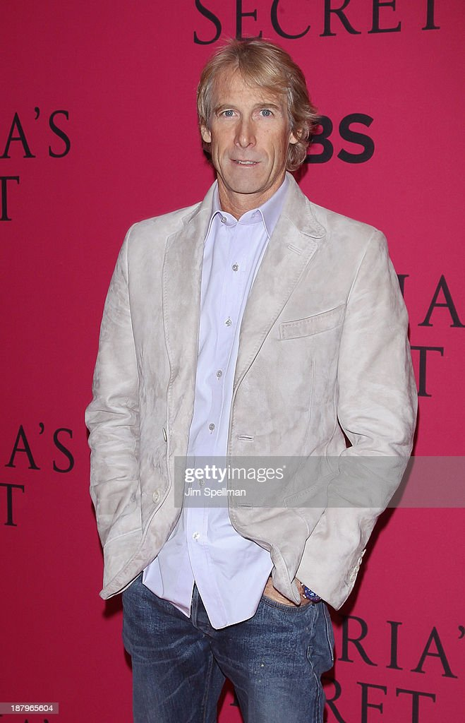 Film Director <a gi-track='captionPersonalityLinkClicked' href=/galleries/search?phrase=Michael+Bay&family=editorial&specificpeople=240532 ng-click='$event.stopPropagation()'>Michael Bay</a> attends the 2013 Victoria's Secret Fashion Show at Lexington Avenue Armory on November 13, 2013 in New York City.
