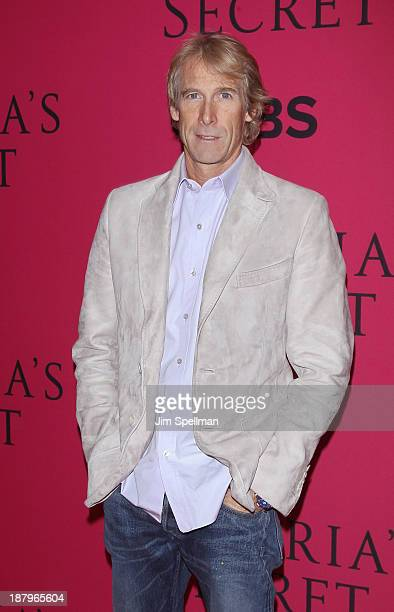 Film Director Michael Bay attends the 2013 Victoria's Secret Fashion Show at Lexington Avenue Armory on November 13 2013 in New York City