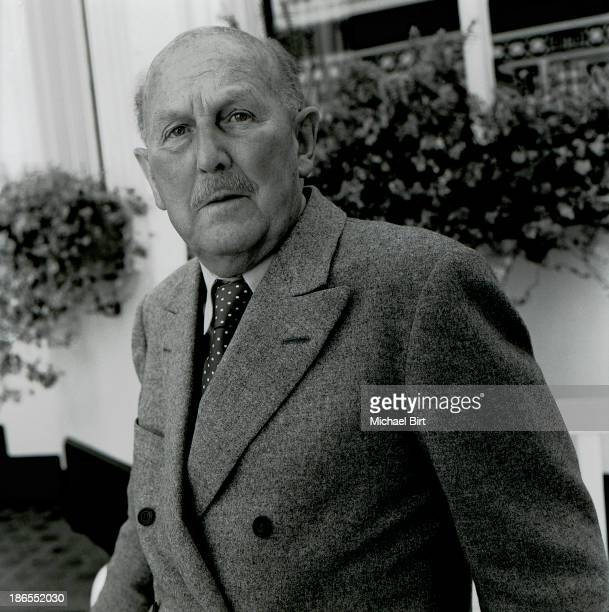 Film director Michael Powell is photographed in London England