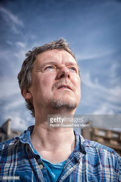 Film director Michel Gondry is photographed for Paris Match on June 26 2015 in Paris France