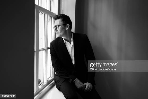 Film director Michel Hazanavicius is photographed during the 61st BFI London Film Festival on October 8 2017 in London England