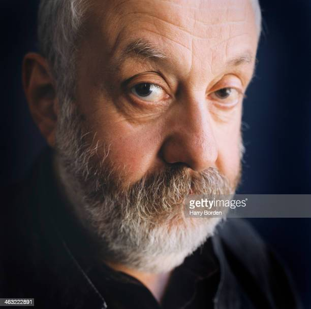 Film director Mike Leigh is photographed for The Times on September 2 2004 in London England
