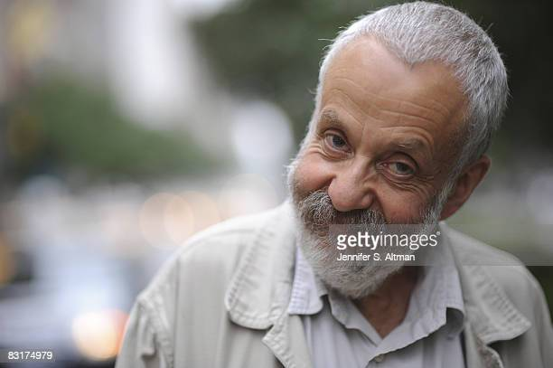 Film director Mike Leigh is photographed in New York for the Los Angeles Times