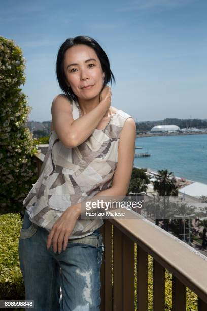 Film director Naomi Kawase is photographed for the Hollywood Reporter on May 24 2017 in Cannes France