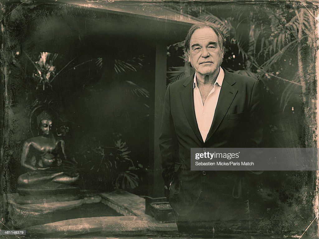 Oliver Stone, Paris Match Issue 3372, January 8, 2014