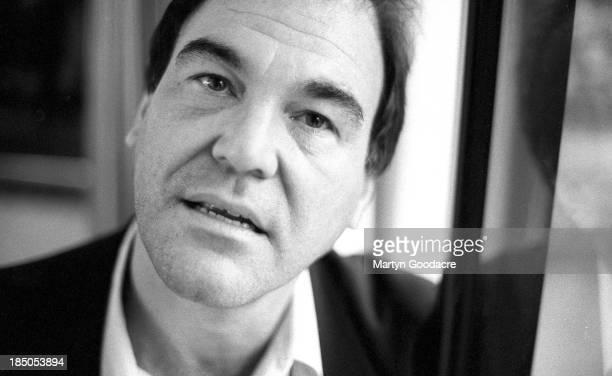 Film director Oliver Stone portrait London United Kingdom 1994