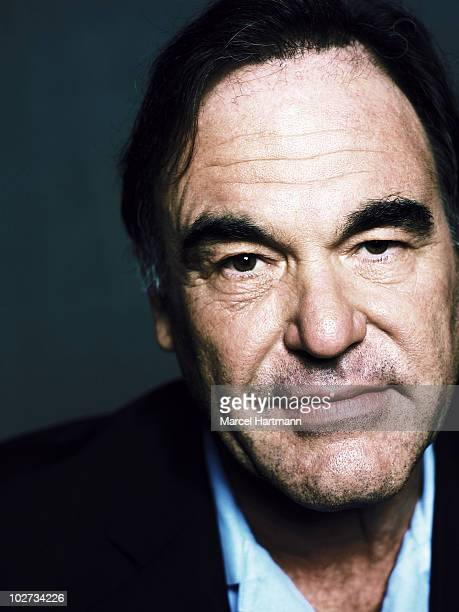 Film director Oliver Stone poses for a portrait shoot in Deauville France