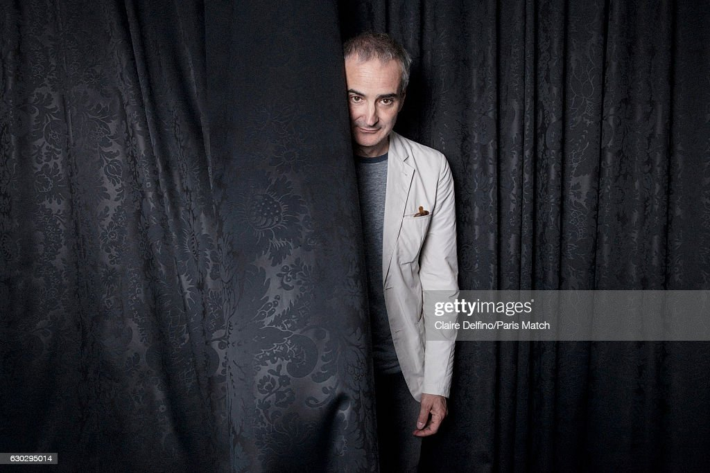 Film director Olivier Assayas is photographed for Paris Match on May 17, 2016 in Cannes, France.