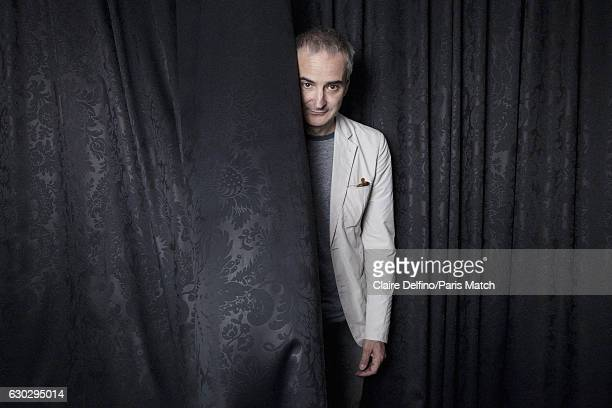 Film director Olivier Assayas is photographed for Paris Match on May 17 2016 in Cannes France