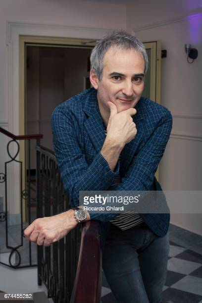 Film director Olivier Assayas is photographed on April 7 2017 in Rome Italy