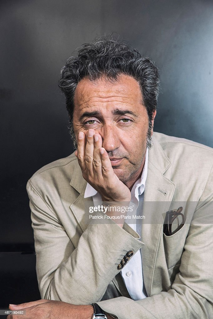 Paolo Sorrentino, Paris Match Issue 3459, September 9, 2015