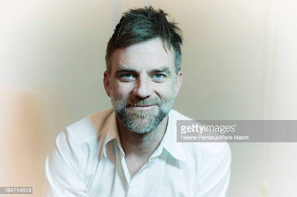 Film director Paul Thomas Anderson is photographed for Paris Match on December 5 2012 in Paris France