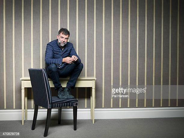 Film director Paul Thomas Anderson is photographed for the Observer on November 20 2014 in London England